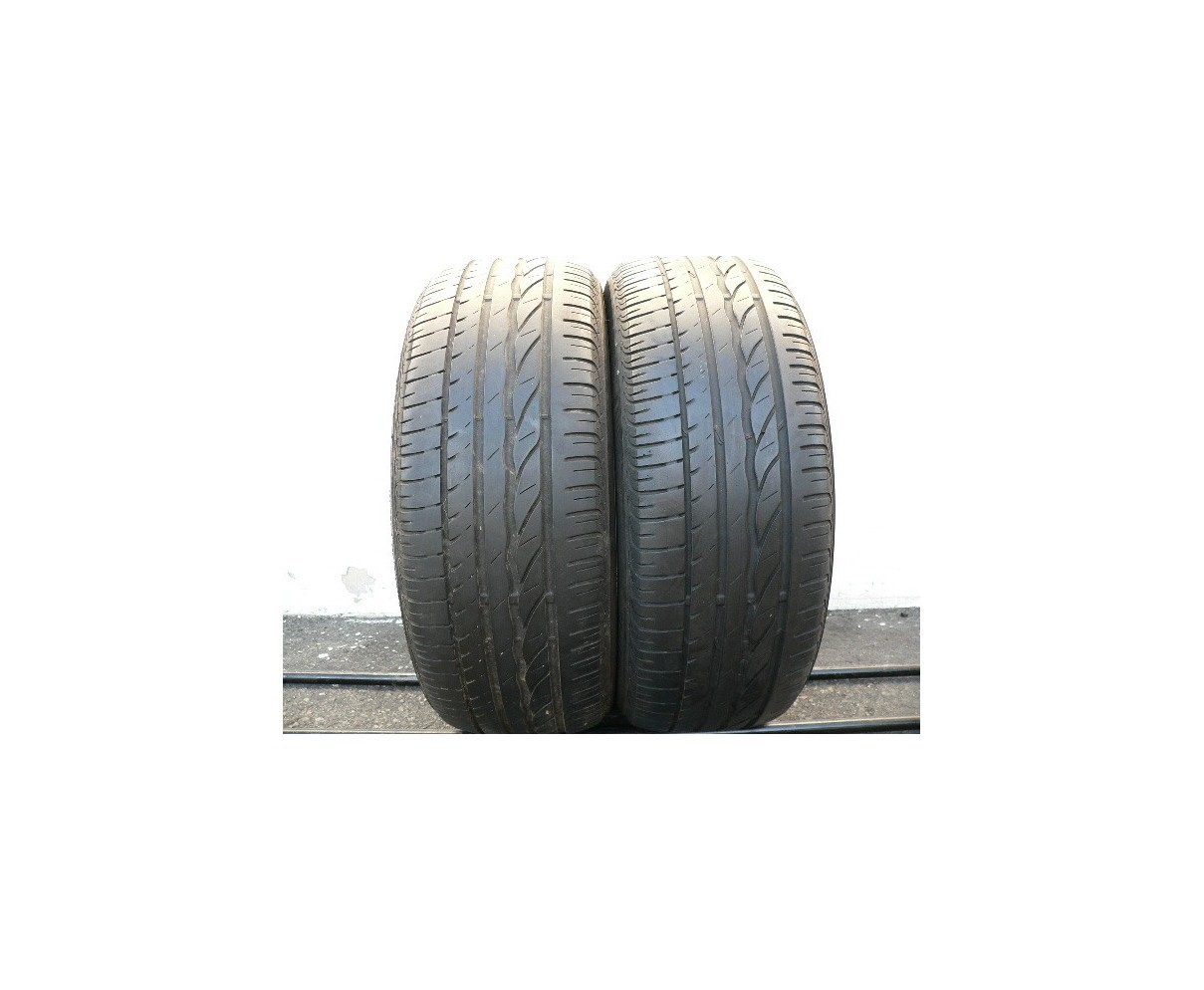 2 used tires 205 55 16 Bridgestone Turanza ER 300 Run Flat 50% life