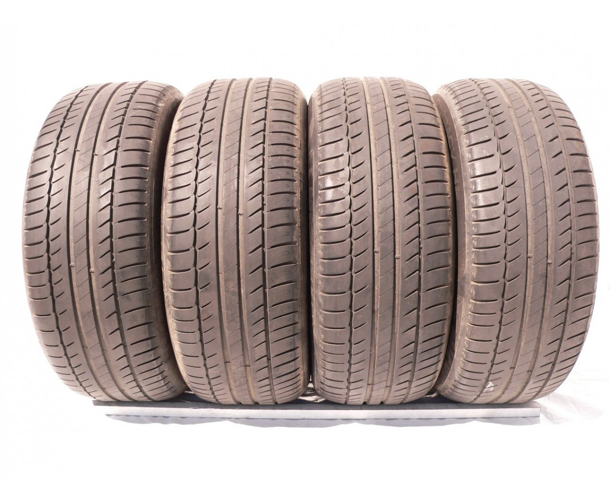4 used tires 225 55 16 Michelin Primacy HP 80% life