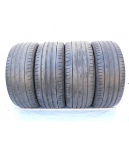 4 used tires 245 45 18...