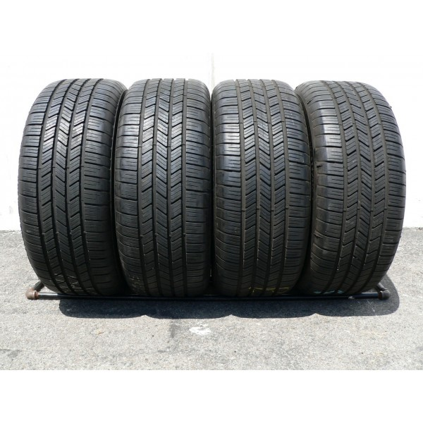 4 used tires 245 45 19 goodyear eagle ls 2 runonflat 80 life. Black Bedroom Furniture Sets. Home Design Ideas
